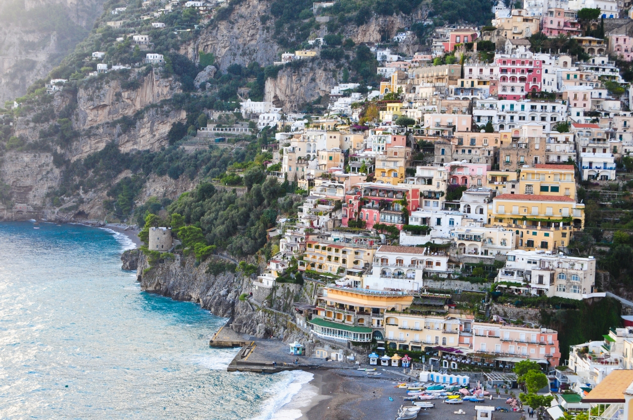 La Tagliata- A magical place above Positano,Italy