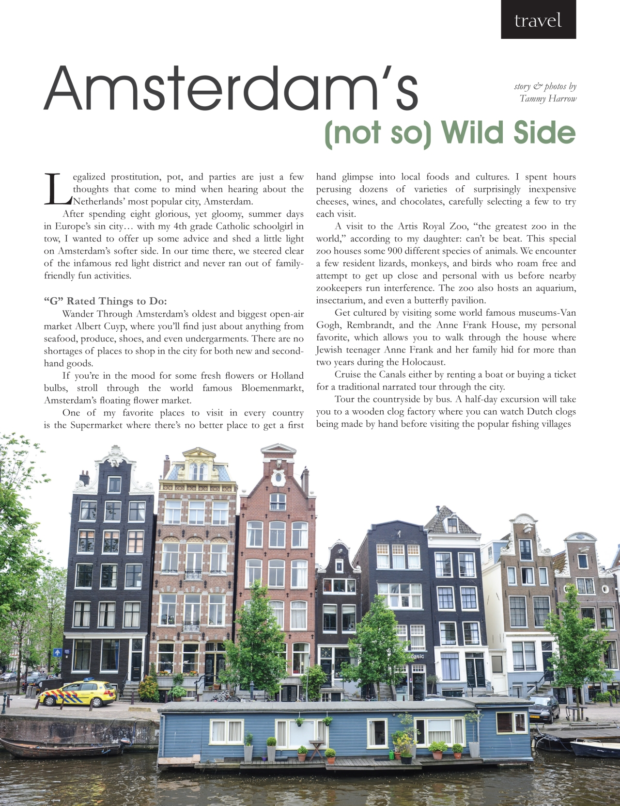 Amsterdam's not so Wild Side